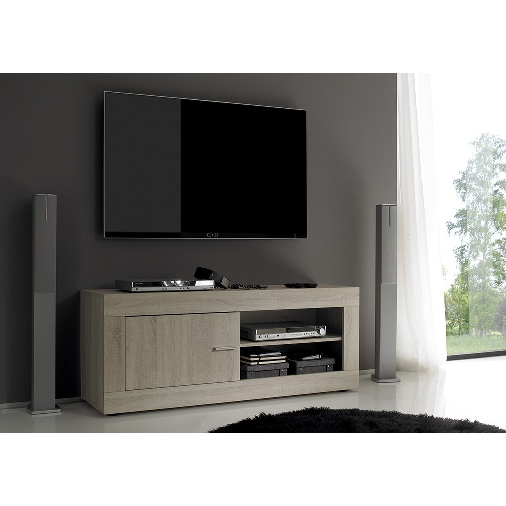meuble tv 140 cm maison design. Black Bedroom Furniture Sets. Home Design Ideas