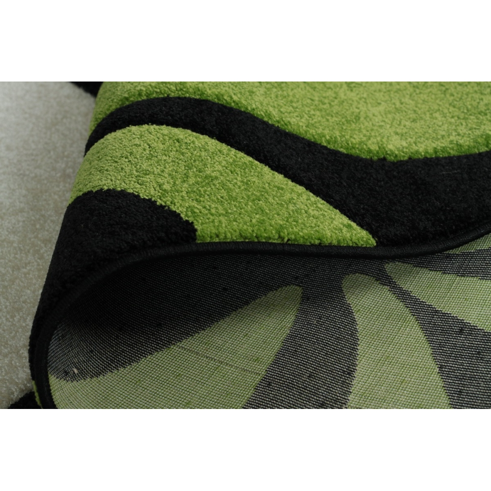 tapis en polypropyl ne vert florida. Black Bedroom Furniture Sets. Home Design Ideas