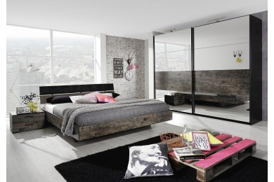 chambre coucher compl te dumobilier. Black Bedroom Furniture Sets. Home Design Ideas