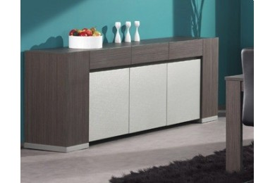 Buffet contemporain bahut contemporain enfilade contemporain dumobilier - Buffet contemporain design ...