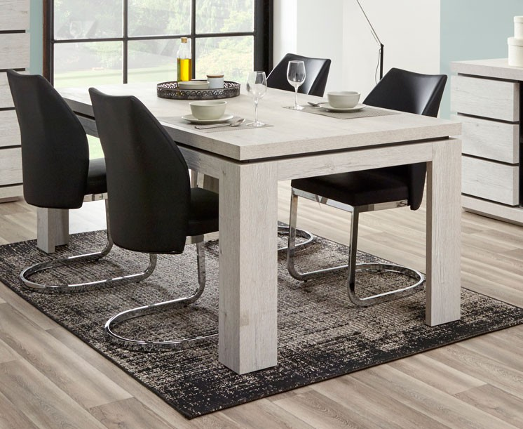 Table de salle manger contemporaine 200 cm gwen - Table de salle a manger contemporaine ...