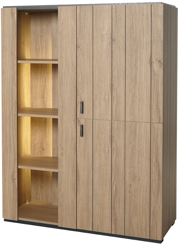 vaisselier argentier contemporain 124 cm bill. Black Bedroom Furniture Sets. Home Design Ideas