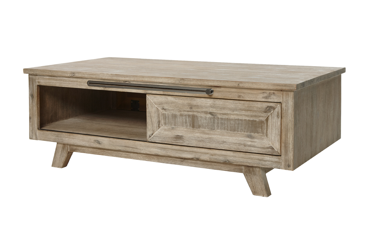 Table basse contemporaine 130 cm boris for Interieur bauwens