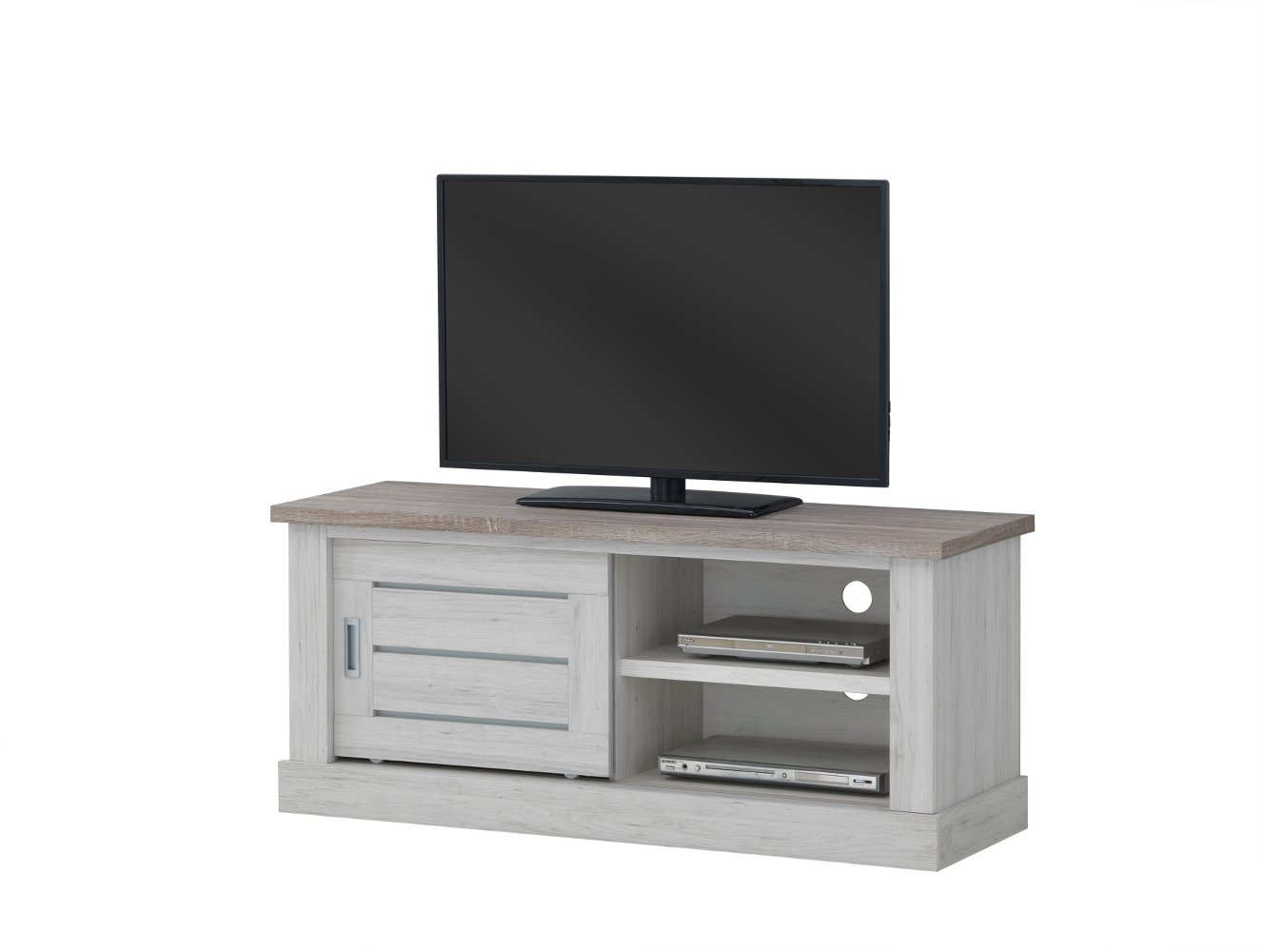 Tv Contemporain 132 Cm Comtesse # Meuble Tv Angle Contemporain